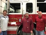 CFS Presents a $4,000 Grant to the Welcome Fire Department