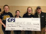 CFS Presents a $3,000 Grant to the NRHEG FFA Chapter