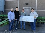 CFS Presents a $3,000 Grant to the United South Central FFA Chapter.